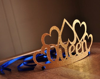 Royal Prince Baby Shower Decorations.  Handcrafted in 2-3 Business Days.   Queen Crown for Mom to Be.