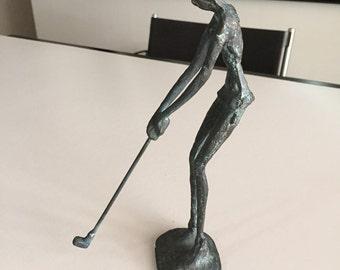 Metal Golf Statue By Gatormom13