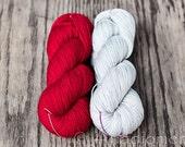 Dia Merino Sock - Shawl kit - Colour Adventures (fibers: merino)