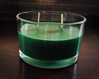 Essential Oil Soy Candles with Single or Double Wooden Wick (6-8oz)