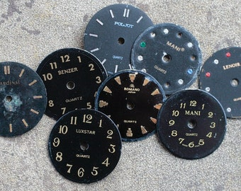 Small Watch Faces -- set of 8 -- D1