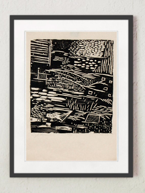 """Print - """"Landscape #4"""""""