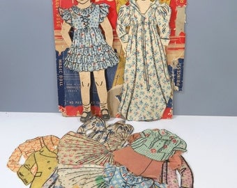 Princess Margaret Rose Magic Paper Doll Set with Original Clothes & Box, Queen Elizabeth's Sister, RARE Vintage
