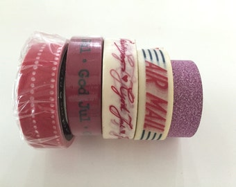 Super Sales (5 rolls) Washi Masking Tape