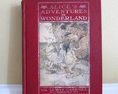 1928 Alice's Adventures in Wonderland by Lewis Carroll Illustrated by Authur Rackham