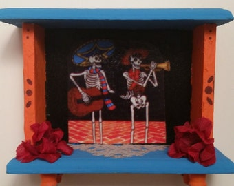 Day of the Dead  / Dia de los Muertos Mini Alter Shrine