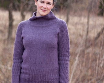 Fireside Pullover - a knitting pattern
