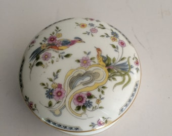 Coalport Bone China Trinket Box Paradise Made in England