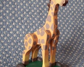Vintage Style Giraffe Pull Toy