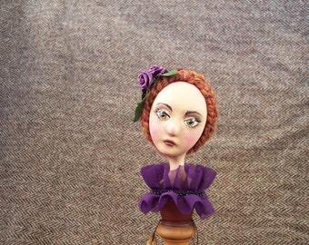 Painted Ladies Candlestick Doll: Monique