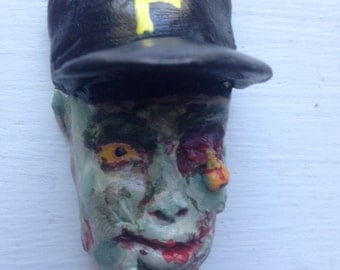 Zombie Pittsburgh Pirates Magnet