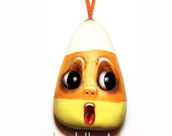 Candy Corn Ornament Halloween Decoration