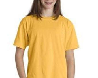 Blank Youth Comfort Color T-shirts - SALE - in stock items only