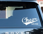 Cheer Mom Decal Sticker Cheer Mom Car Vinyl Decal Sport Decal Team Sticker Cheer Mom Gift