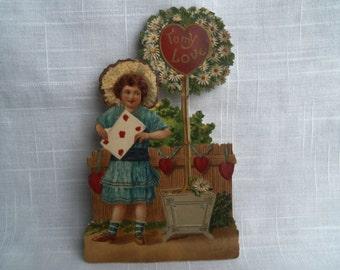 Vintage Victorian Valentine Scrap