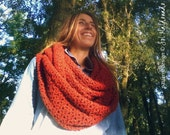 Cowl Crochet Pattern - Classic snood PDF unisex infinity scarf neckwarmer - Instant Download