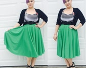 1950s Style Retro Full Skirt ... Disneybounding, Bridesmaids, VLV, Car Show, Sorority, Rockabilly