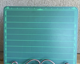Vintage Green Slate School Chalkboard Kitchen Chalk Board Super Slate by World Research 4 Available - #3285