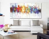 """60"""" Art  Painting wall art large painting abstract painting acrylic painting oil painting  from jolina anthony signet  express shipping"""