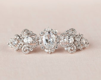 Crystal Bridal Bracelet, Wedding Jewelry, Bridal Jewelry, Crystal Chandelier earrings, Swarovski,  Annabelle Bridal Bracelet
