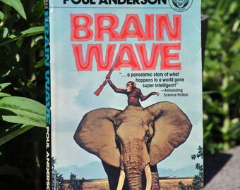 Brain Wave by Poul Anderson, science fiction book, fantasy, 1978