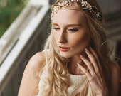 Entwined Crystal  and Rhinestone Headpiece