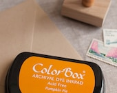 Orange ink pad - Pumpkin Pie - Colorbox Archival Dye Ink Pad