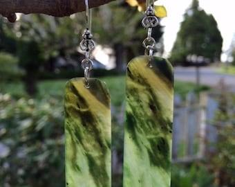 Yukon Jade Earrings