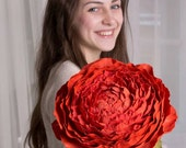 Large Red Rose Flower Decor Wedding Floral Bouquet artificial flower house decor home decoration mother mom gifts ideas