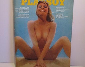 Vintage Playboy Magazine - August 1973 - Vol. 20 No. 8 - Adult