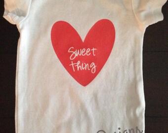 Sweet Thing Heart Onesie