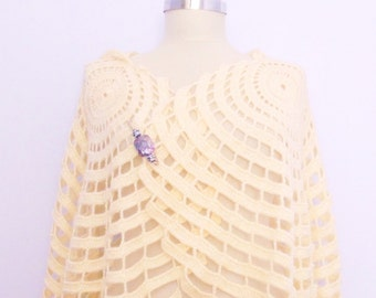 wedding shawl  bride shawl handmade gift design modelknitting bolero stole shrug