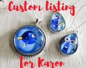 Custom listing for Karon - Dory and Nemo