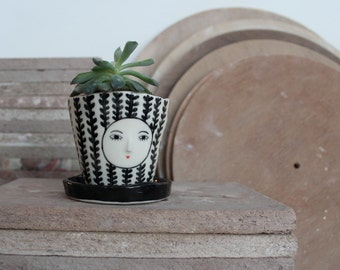 Planter with tray