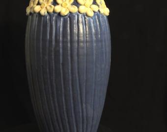 "Studio Pottery Vase ""May Day"""