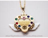 Sailor Moon Eternal Moon Article Inspired Acrylic Necklace for Mahou Kei & Magical Girl Fashion
