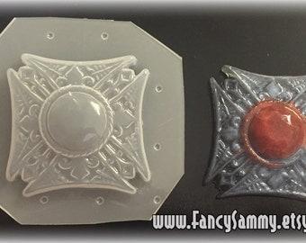 Gothic Vampire Crest Plastic Mold