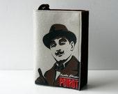 Hercule Poirot Felt Book Purse