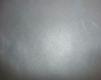 "Leather 12""x12"" DIVINE Medium Gray Top Grain Cowhide - 2.5 oz / 1 mm FULL hides available PeggySueAlso™ E2885-31"