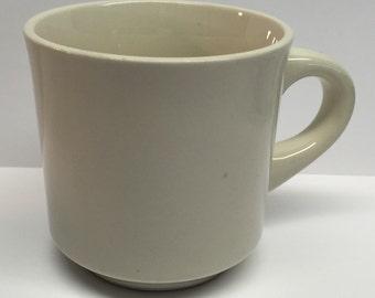 Ironstone Mug Off White Restaurant Ware