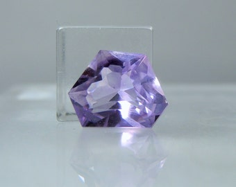 Loose Purple Amethyst Quartz Gemstone Amethyst Quartz Medium Purple Freeform Cut 7.60 carats Lapidary and Jewelry Supply DanPickedMinerals