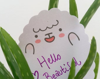 Kawaii Sheep Sticky Notes