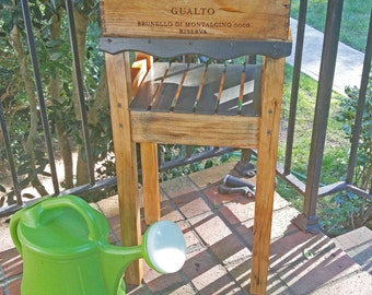 """Kate's """"Camigliano -  Wine Crate - Repurposed Garden Tool Box"""" - home and living, outdoor and gardening"""