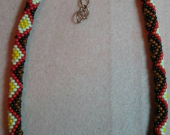 Diamondback Necklace