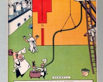Vintage Andersen's Split Pea Soup Postcard