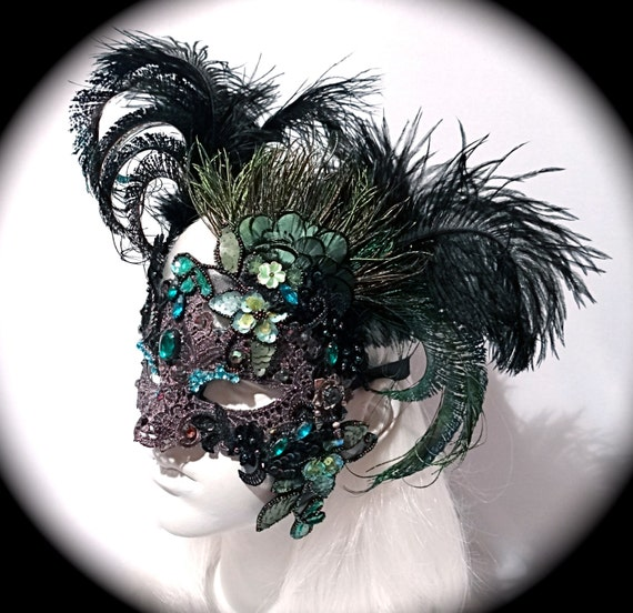 peacock maske venezianische maskenball masken fasching. Black Bedroom Furniture Sets. Home Design Ideas