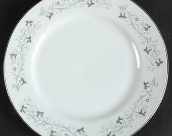 Fine China Japan Moon Mist Plate Vintage Dinnerware Porcelain China Vintage Dinner Plate