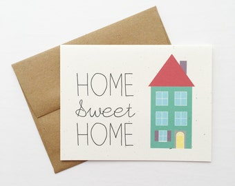 Home Sweet Home | New Home | Greeting Card