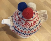 Teacosey with norwegian pattern