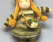 """Sweet doll in Waldorf style -  """"Taia"""" 